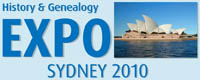History and Genealogy Expo Sydney 2010