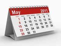 Calendar May 2011
