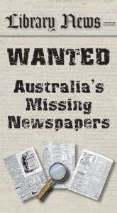 Australia's Missing Newspapers ANPlan