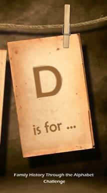 FH Alphabet - D