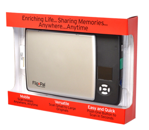 Flip-Pal Scanner in Box