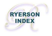 logo - Ryerson Index