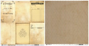 Bazzill Basics Heritage Note Cards 2 (Vertical)