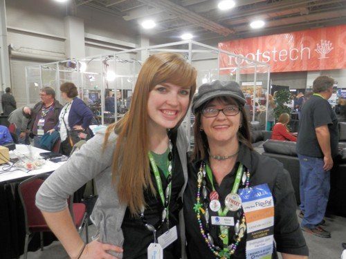 I had the pleasure of meeting Lisa, the geneablogger for BillionGraves. Isn't she lovely.