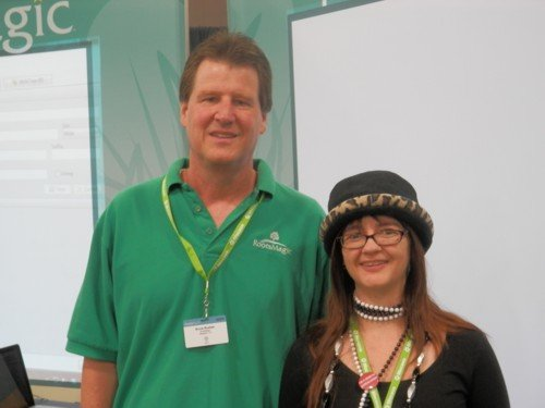 Bruce Buzbee from RootsMagic and Alona Tester from Gould Genealogy