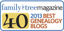 40 Best Genealogy Blogs 2013