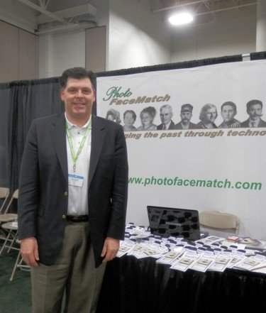 Brock from Photo FaceMatch at RootsTech 2013