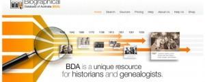 Biographical Database of Australia