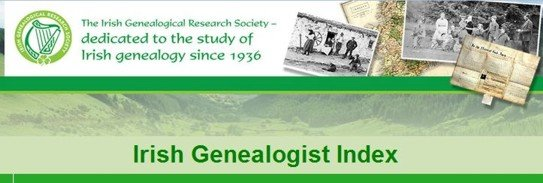 Irish Genealogival Reseach Society