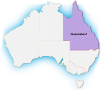 map - Queensland
