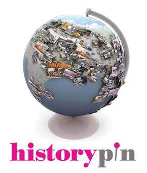 logo - historypin & world