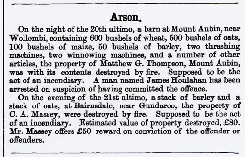 AU2103-1873 b NSW Police Gazette