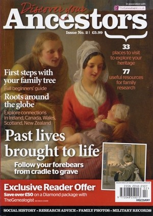 Discover Your Ancestors printed magazine, Issue 2