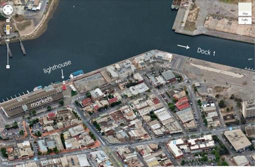 clipper ship adelaide dock 1 port adelaide