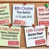 pinboard - 6th-13th cruises