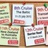 pinboard - 6th-13th cruises