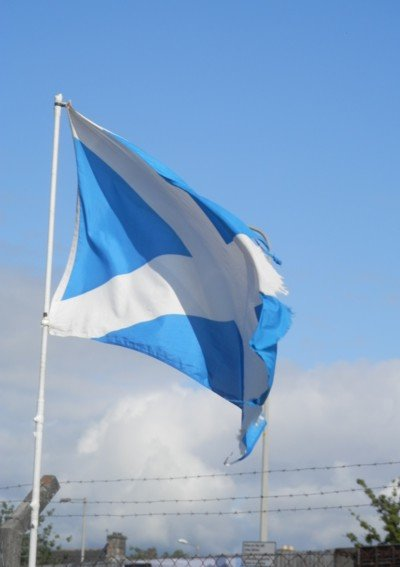 Scottish flag at invergordon