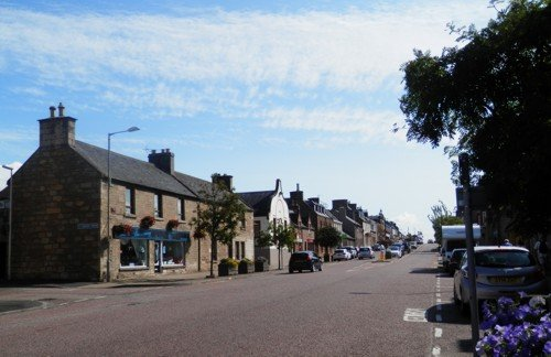 main street Invergordon, Scotland