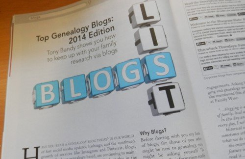 Internet Genealogy Magazine aug/Sep 2014