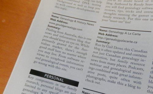 Internet Genealogy Magazine aug/Sep 2014