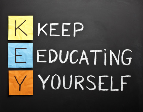 KEY Keep-educating-yourself-acronym
