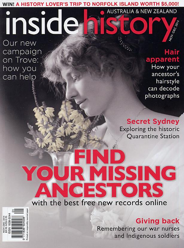 Inside History Magazine - 2014-11