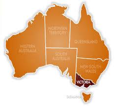 map - Victoria