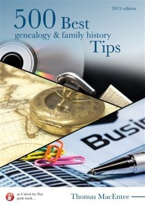 UTP0425-2 500 Best Genealogy and Family History Tips