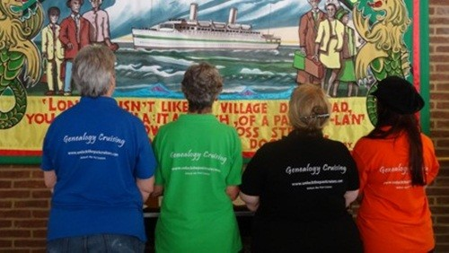 the back of the cruise t-shirts