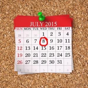 July 2015  Calendar