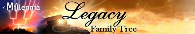 Legacy Family Tree header
