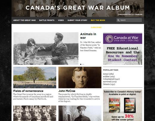 ww1 - Canada's Great War Album
