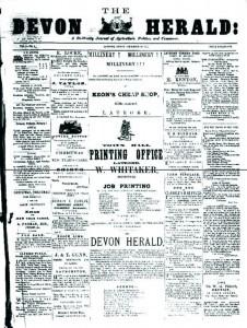 Trove - Devon Herald, 1877