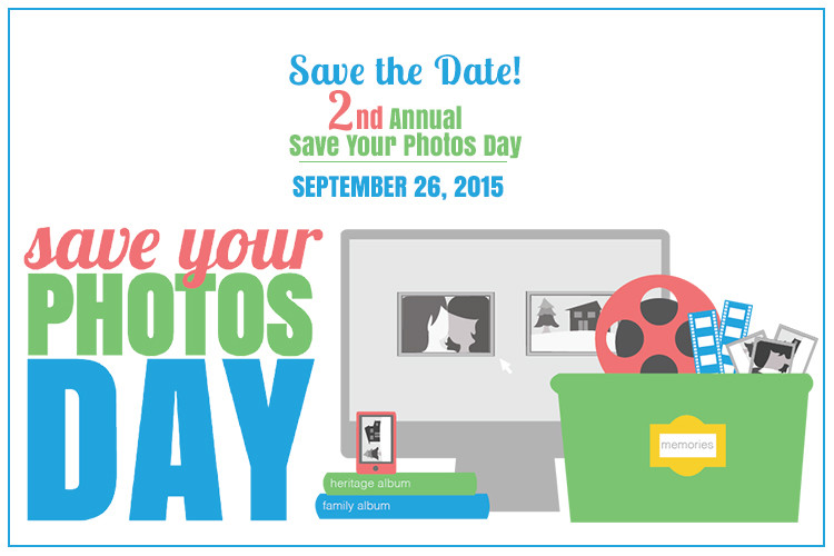 Scan Your Photo Day 2015 banner