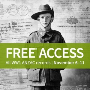 Ancestry - WW1 records