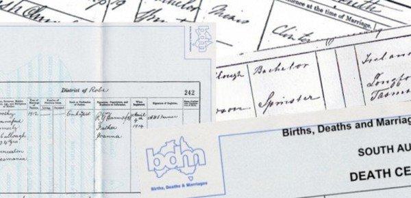 Australian-BDM-certificates