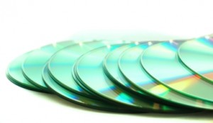 bigstockphoto_A_Snailpath_Of_Cds_1272452 edited