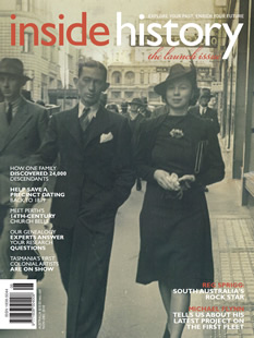 "Australia's ""Inside History Magazine"" Turns 5"