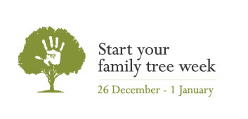 'Start Your Family Tree Week' is on Again (December 26 – January 1)