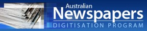 logo - Australian Newspapers Project