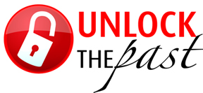 Unlock the Past logo