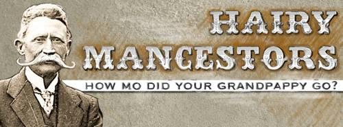 Hairy Mancestors and Movember