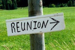 Family Reunion sign
