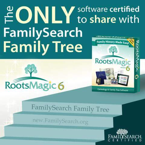 RootsMagic - FamilySearch Family Tree