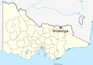 map - Wodonga