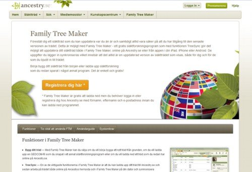 family tree maker world express is available for free
