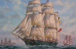 City of Adelaide Clipper Ship 01
