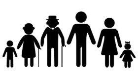 bigstock-Family-Icons-3 generations