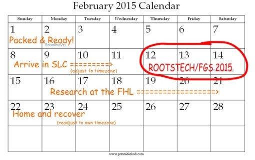 calendar - February 2015 big