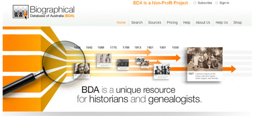 Major Update on Biographical Database of Australia